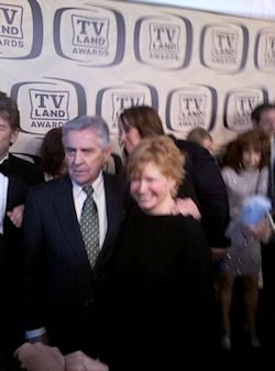 Bonnie Franklin and Pat Harrington, Jr. at the TV Land Awards