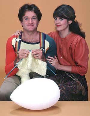 Mork & Mindy - Robin Williams and Pam Dawber