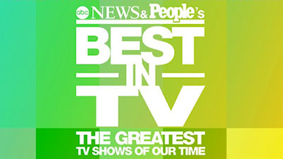 People's Best in TV: The Greatest TV Shows of Our Time