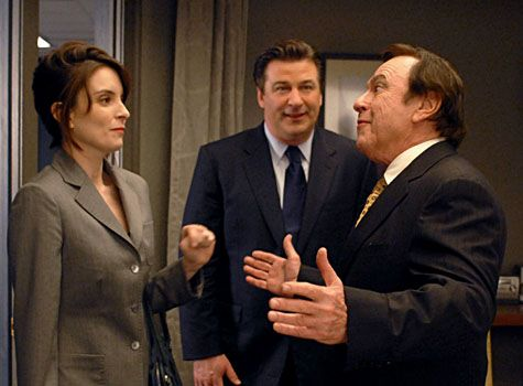 Tina Fey, Alec Baldwin and Rip Torn - 30 Rock