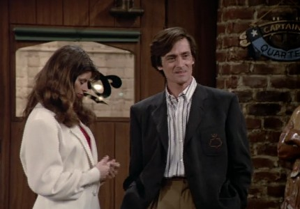 Kirstie Alley and Roger Rees - Cheers