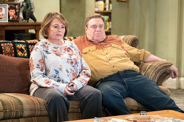 Roseanne - Roseanne Barr and John Goodman