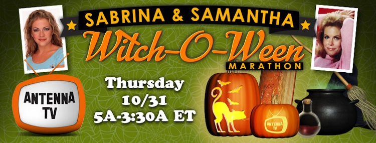 Sabrina & Samantha Witch-O-Ween Marathon