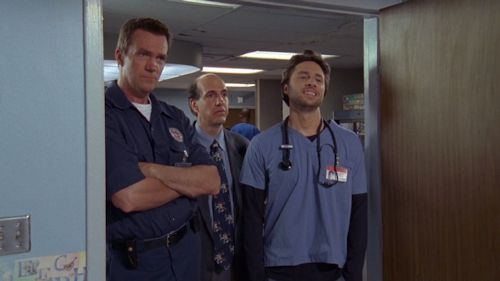 Scrubs - Neil Flynn, Sam Lloyd and Zach Braff
