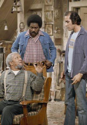 Sanford and Son - Redd Foxx, Demond Wilson and Gregory Sierra