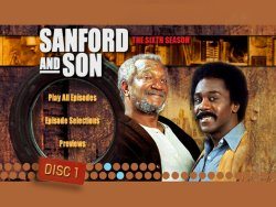 Sanford and Son - Season 6 DVD Menu