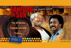Sanford and Son Season 4 DVD Menu