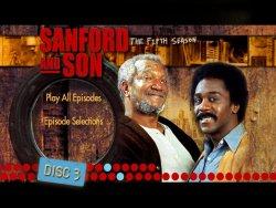 Sanford and Son - Season 5 DVD Menu
