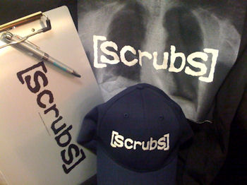 Scrubs Prize Pack