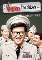 'Sgt. Bilko (The Phil Silvers Show) - The Fourth Season' from the web at 'http://www.sitcomsonline.com/photos/sgtbilkoseason4dvdsm.jpg'