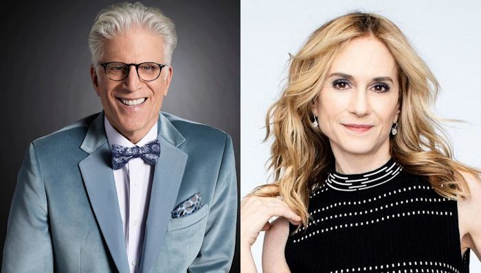 Ted Danson and Holly Hunter