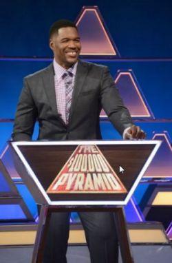 The $100,000 Pyramid - Michael Strahan
