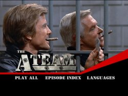 The A-Team Season 1 DVD Menu