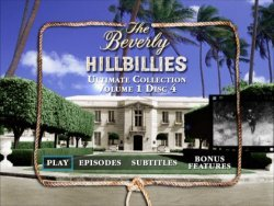 The Beverly Hillbillies - Main DVD Menu