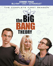 The Big Bang Theory - The Complete First Season Combo Pack - Blu-ray + DVD + UltraViolet