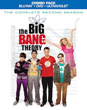 The Big Bang Theory - The Complete Second Season Combo Pack - Blu-ray + DVD + UltraViolet
