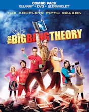 The Big Bang Theory - The Complete Fifth Season Combo Pack - Blu-ray + DVD + UltraViolet
