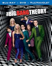 The Big Bang Theory - The Complete Sixth Season Combo Pack - Blu-ray + DVD + UltraViolet