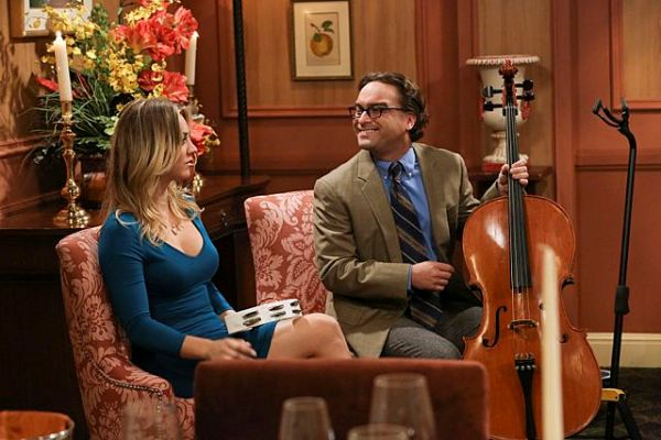 Kaley Cuoco and Johnny Galecki - The Romance Resonance