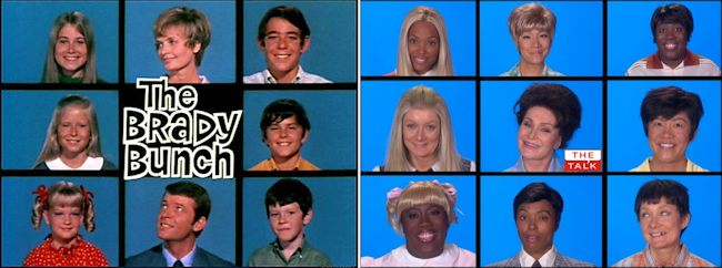 The Brady Bunch Reunion on The Talk