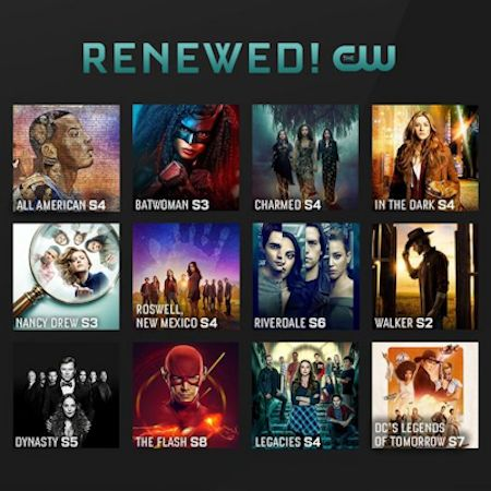 The CW 2021-22 Renewals