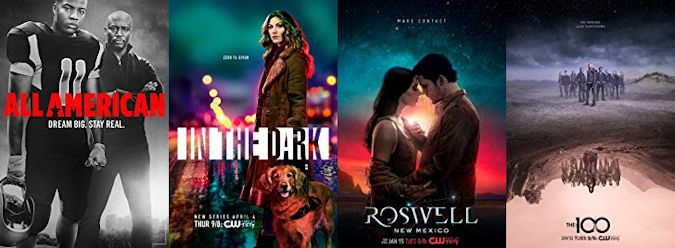 All American, In the Dark, Roswell New Mexico and The 100