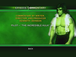 The Incredible Hulk - The Complete First Season DVD Menu