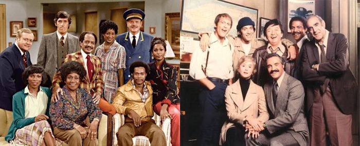 The Jeffersons and Barney Miller