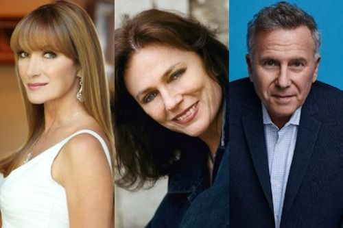 Jane Seymoud, Jacqueline Bisset and Paul Reiser