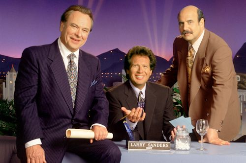 The Larry Sanders Show - Rip Torn, Garry Shandling and Jeffrey Tambor