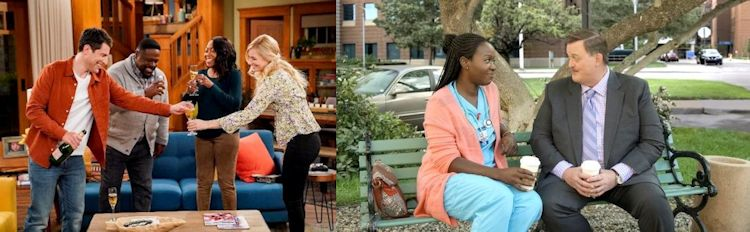 The Neighborhood and Bob ♥ Abishola