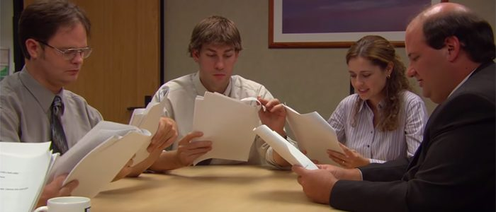The Office Threat Level Midnight Table Read