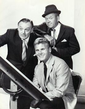 The Tab Hunter Show - Jerome Cowan, Tab Hunter and Richard Erdman