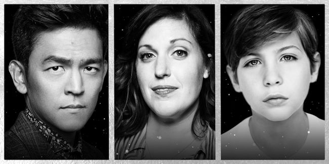 John Cho, Allison Tolman and Jacob Tremblay