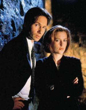 The X-Files - David Duchovny and Gillian Anderson