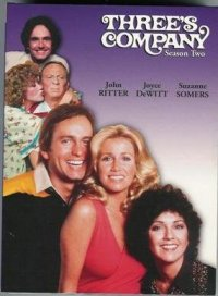 Three's Company - Season Two DVD Cover
