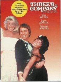 Three's Company Season 3 DVD Case Cover
