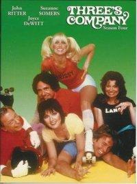 Three's Company - Season Four Cover Case
