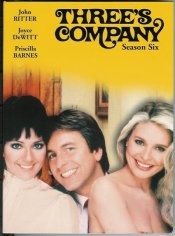 Three's Company - Season Six DVD Cover Case