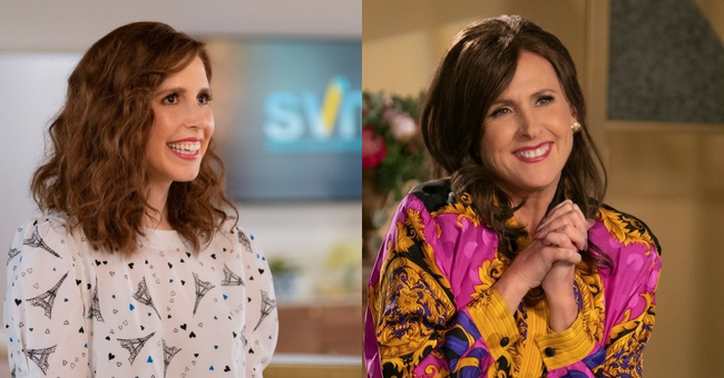 Vanessa Bayer and Molly Shannon