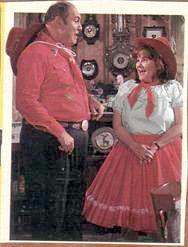 Willard Scott and Edie McClurg