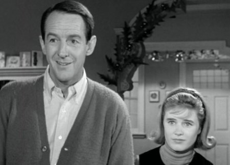 William Schallert and Patty Duke