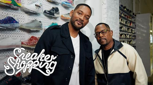 Will Smith & Martin Lawrence - Sneaker Shopping