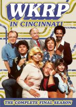 'WKRP in Cincinnati - The Complete Final (Fourth) Season' from the web at 'http://www.sitcomsonline.com/photos/wkrpincincinnatiseason4dvdsm.jpg'