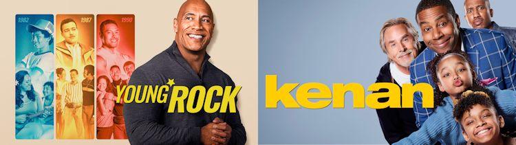 Young Rock and Kenan