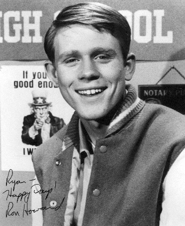 Ron Howard autograph