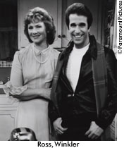 Marion and Fonzie