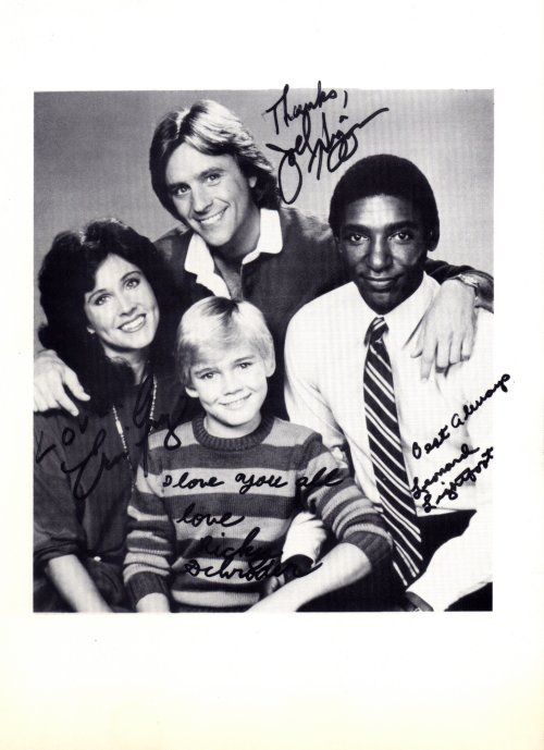 Silver Spoons pre-printed autographed photo
