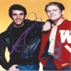 Henry Winkler and Ron Howard autograph