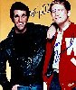 Henry Winkler (The Fonz) and Ron Howard (Richie)